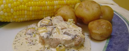 pork chops with mushrooms dill and sour cream sauce recipes pork chops ...