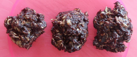 chocolate no bake cookies
