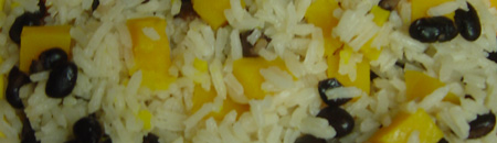 Halloween Party Food: Black And Orange Rice Side Dish Recipe