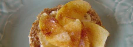 Apple Cream Cheese Melts