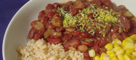 zesty kidney beans