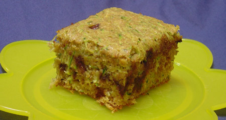 zucchini snack cake
